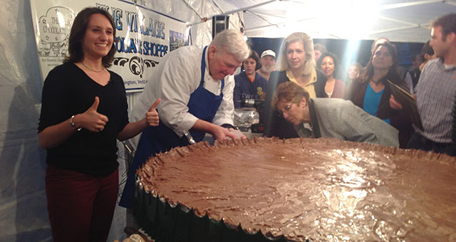 The World's Largest Peanut Butter Cup